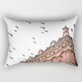 Citys Bird Sanctuary Rectangular Pillow