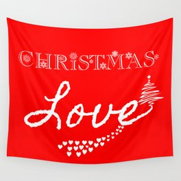 Christmas Love! Wall Tapestry
