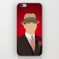 boardwalk empire iPhone & iPod Skins featuring Nucky Thompson - Boardwalk Empire by Tom Storrer