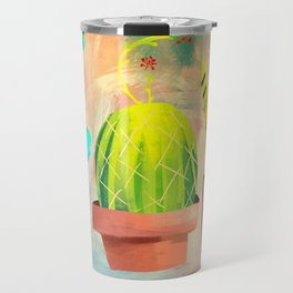 Cactus Friends Travel Mug