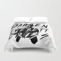 darren criss Duvet Covers featuring Darren Criss by kltj11