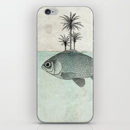 Paradise Goldfish iPhone Skin
