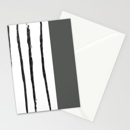 Mineral Slate | Modern Watercolor Stationery Cards