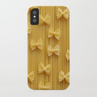 pasta iPhone & iPod Cases featuring Pasta  by Ylenia Pizzetti
