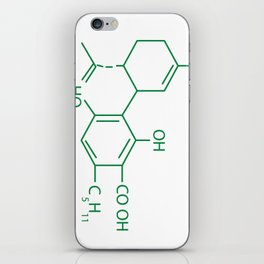 Cannabis Chemistry: CBD iPhone Skin