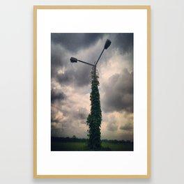 Light Post Framed Art Print