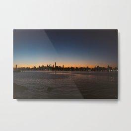 NYC Skyline from Brooklyn Metal Print