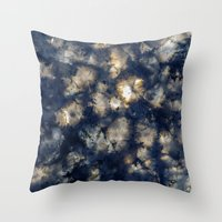 Throw Pillows featuring Dark Storms II by Phocas