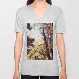 Fall Walk Unisex V-Neck