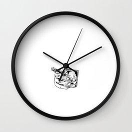 Funny Whisky Gentleman Bourbon Single Malt Wall Clock