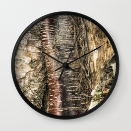 If I Could Read Tree Wall Clock