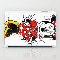 minnie iPad Cases featuring Minnie Mashed by Dave Seedhouse.com