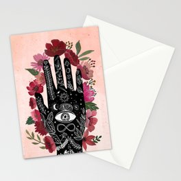 Touching the sky. Cosmic Art Stationery Cards