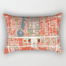 Beijing city map classic Rectangular Pillow