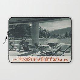 Vintage poster - Switzerland Laptop Sleeve