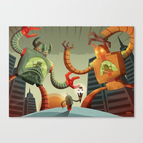 RoboMonsters Canvas Print