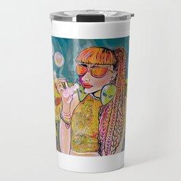 Ashley and Sunflowers Travel Mug