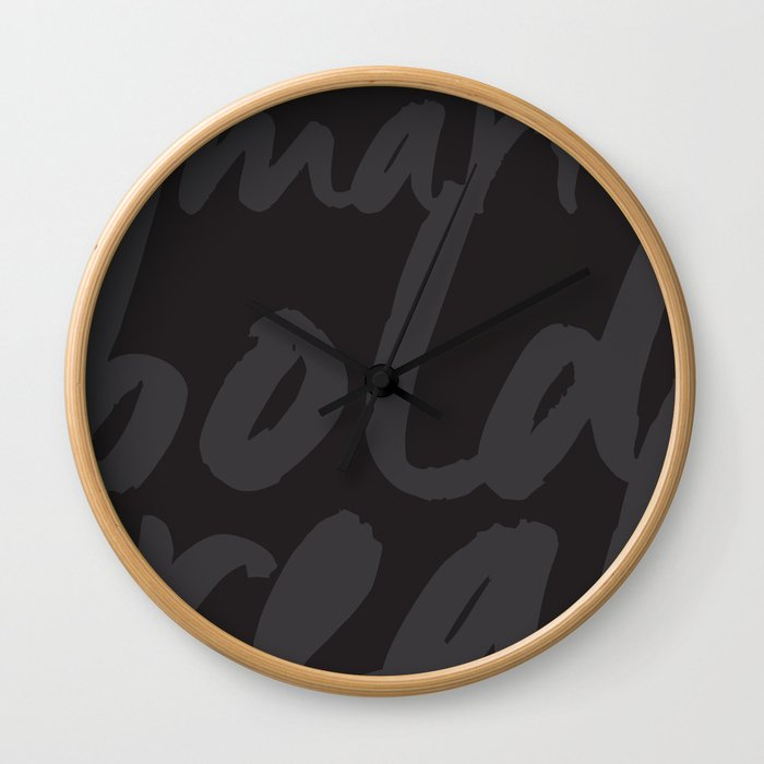 You! Wall Clock