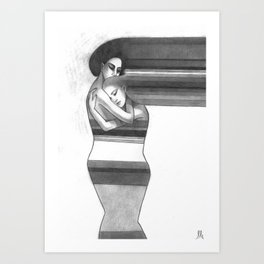 warming Art Print