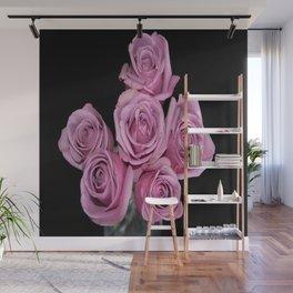Purple Rose Group-1 Wall Mural