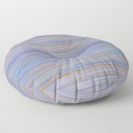 Colorful Abstract Stripped Pattern Floor Pillow