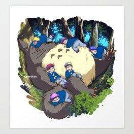 My Neighbour Osomatsu 02 Art Print