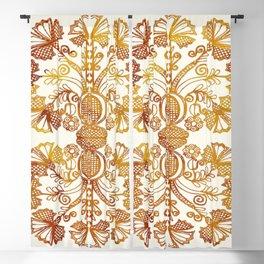 Vintage Design Blackout Curtain