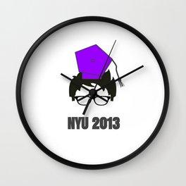 NYU Grad Wall Clock