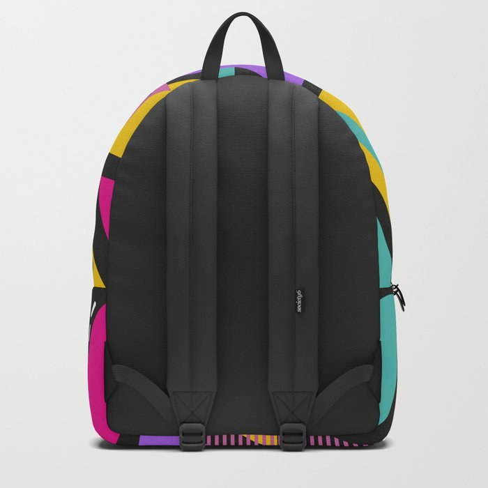 Memphis Triangles Backpack