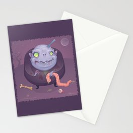 Blob Zombie Stationery Cards