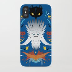 Trained Dragons iPhone X Slim Case