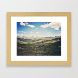 Colorado Sky Framed Art Print