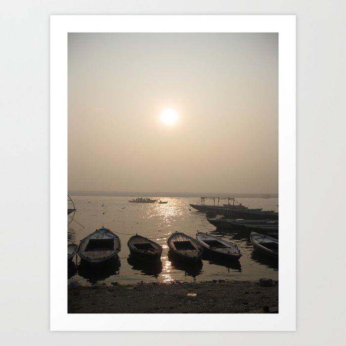 The Ganges River Art Print