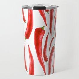 Red Chilies Travel Mug