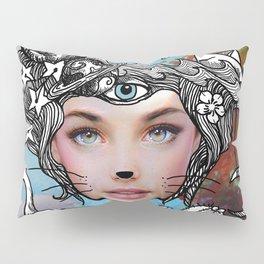 Alice in Modernland Pillow Sham