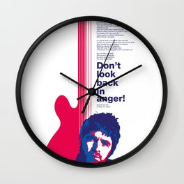 Noel Gallagher - Don't Look Back In Anger Wall Clock