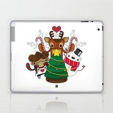Merry Christmas Chestnut Girl!!! Laptop & iPad Skin