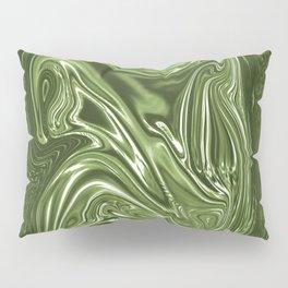 Curvaceous 4 ......flowing liquid color....original art Pillow Sham