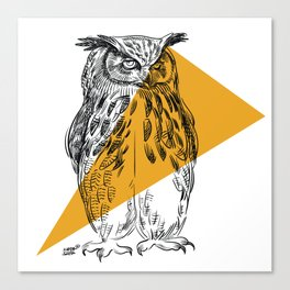 UHU - Eurasian Eagle Owl (Bubo bubo) Canvas Print