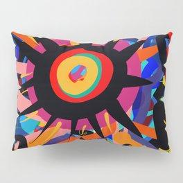 Black Sun is shining Abstract Art Street Graffiti Pillow Sham