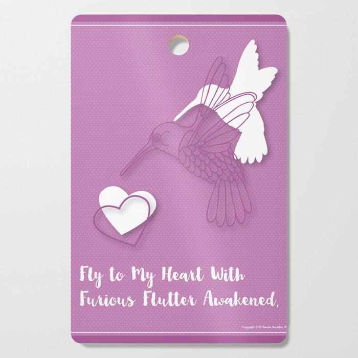 Furious Flutter Cutting Board