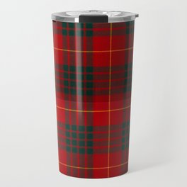 CAMERON CLAN SCOTTISH KILT TARTAN DESIGN Travel Mug