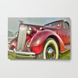 Packard Type 138 Vintage Saloon Car Metal Print