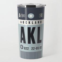 Luggage Tag A - Auckland New Zealand Travel Mug