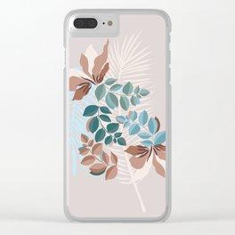 Tropical Bouquet ° Clear iPhone Case