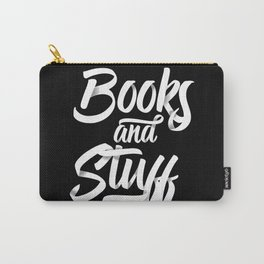 Books and Stuff Carry-All Pouch