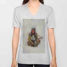 Indian Chief Unisex V-Neck