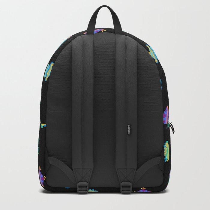 Sea slug - black Backpack