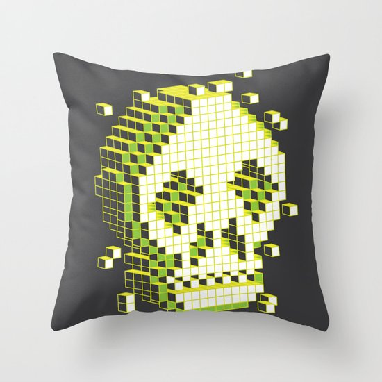 pixelation Throw Pillow