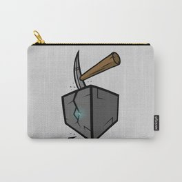Diamond in the Block Carry-All Pouch